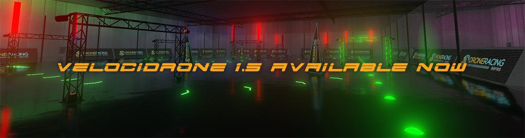 VelociDrone FPV Racing Simulator 1.5
