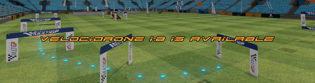 VelociDrone FPV Racing Simulator 1.8